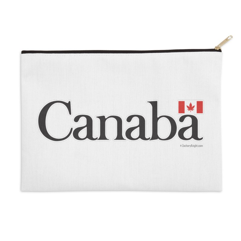 Canaba - Style B Accessories Zip Pouch by Zachary Knight | Artist Shop