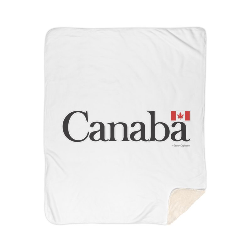 Canaba - Style B Home Sherpa Blanket Blanket by Zachary Knight | Artist Shop