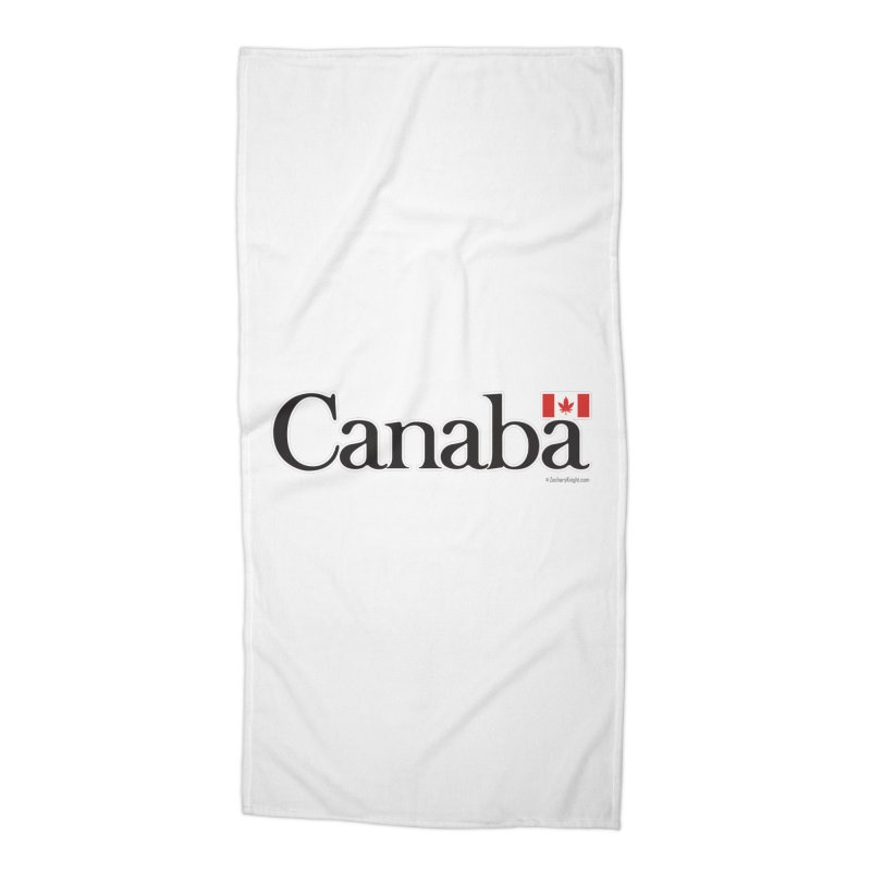 Canaba - Style B Accessories Beach Towel by Zachary Knight | Artist Shop