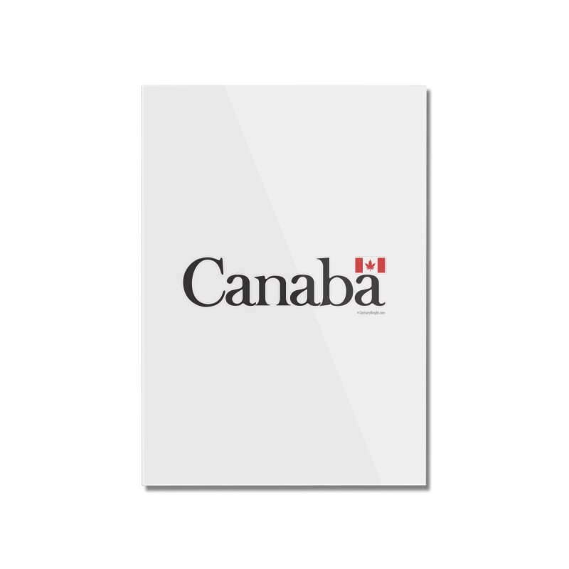 Canaba - Style B Home Mounted Acrylic Print by Zachary Knight | Artist Shop