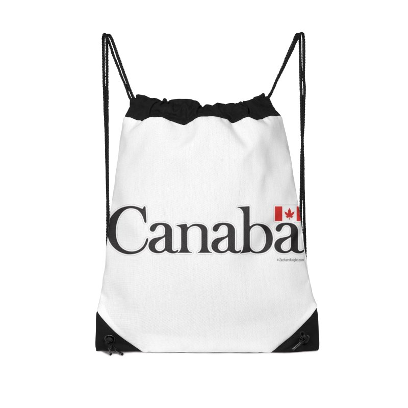 Canaba - Style B Accessories Drawstring Bag Bag by Zachary Knight | Artist Shop