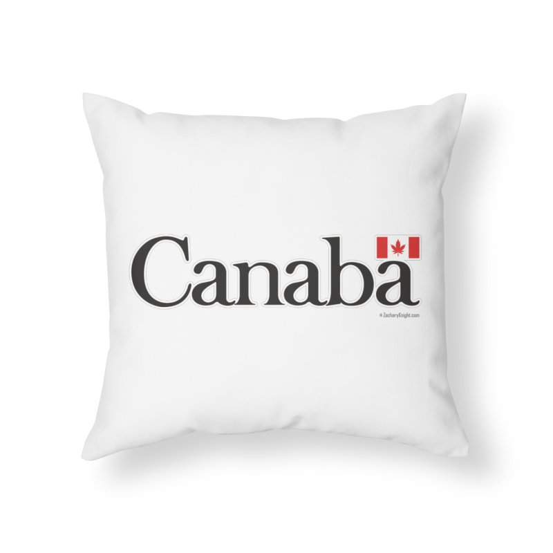 Canaba - Style B Home Throw Pillow by Zachary Knight | Artist Shop