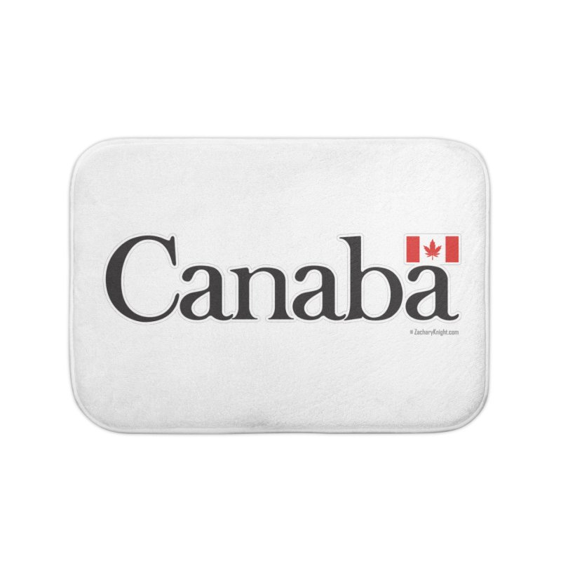 Canaba - Style B Home Bath Mat by Zachary Knight | Artist Shop