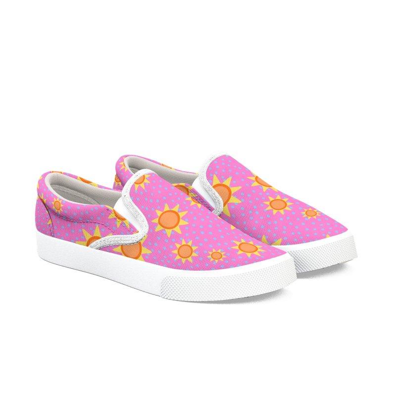 Sunny Women's Slip-On Shoes by Zonkt's Artist Shop