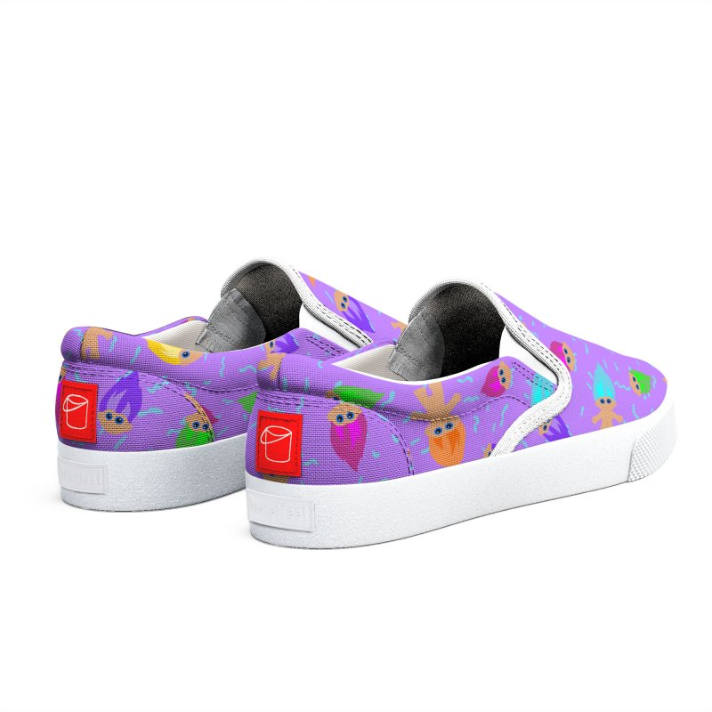 Retro Dolls (purple) Women's Shoes by Zonkt's Artist Shop