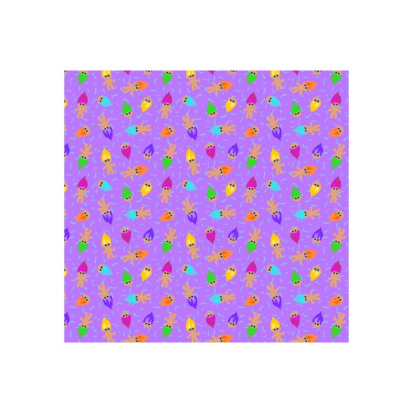 image for Retro Dolls (purple)