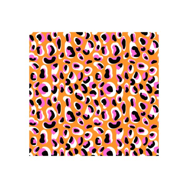 image for Jangal Leopard (Orange + Pink)