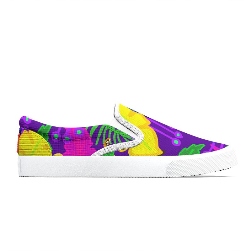 Jangal (Purple) Women's Shoes by Zonkt's Artist Shop