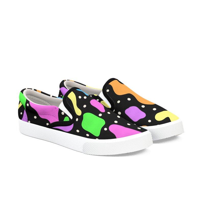 Grimace Women's Slip-On Shoes by Zonkt's Artist Shop