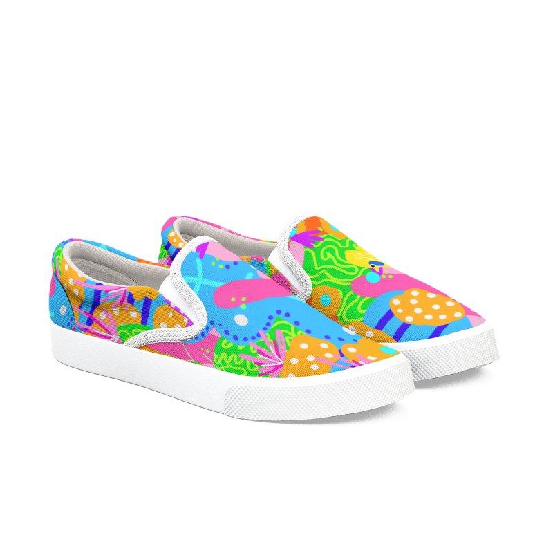Coral Cave Women's Shoes by Zonkt's Artist Shop