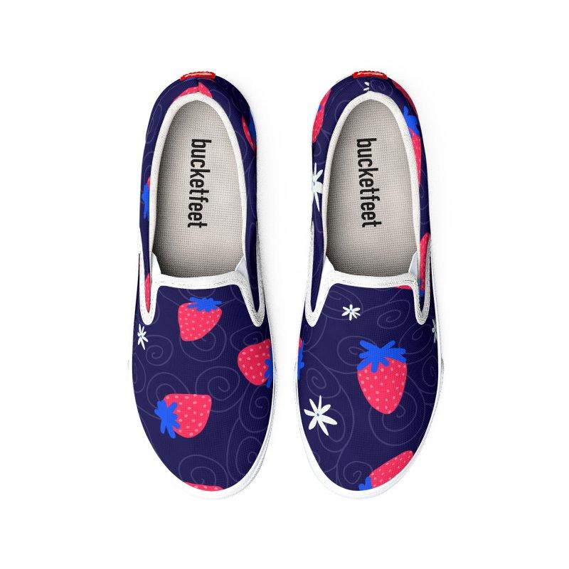 Strawberry Fields Women's Shoes by Zonkt's Artist Shop