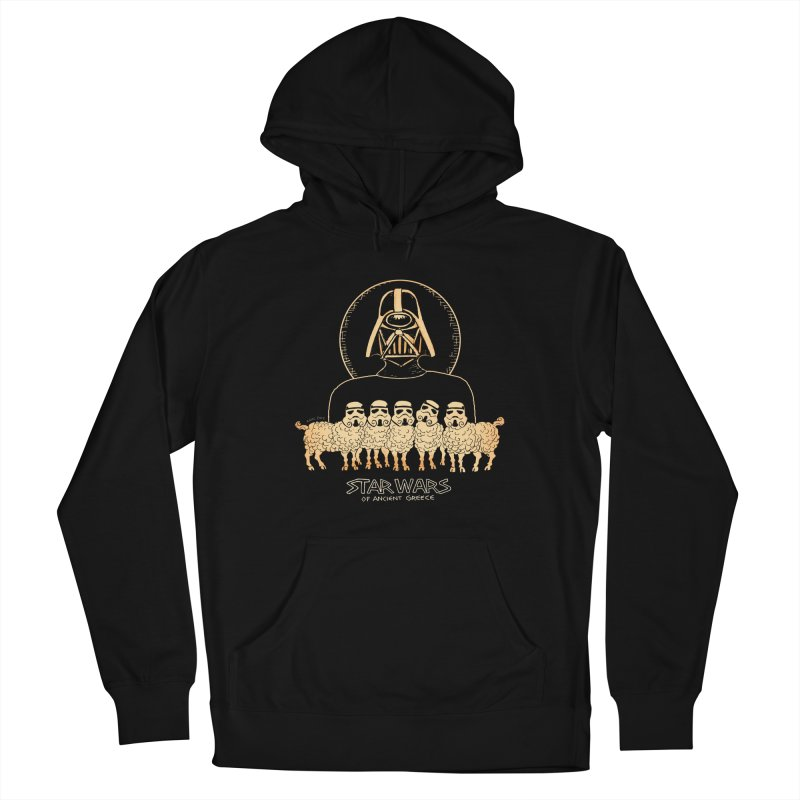 Star Wars of Ancient Greece - Vader Men's Pullover Hoody by Aaron McConnell's Artist Shop