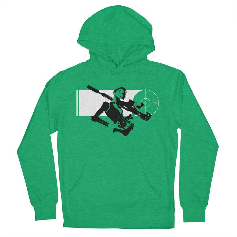 Assassin Women's French Terry Pullover Hoody by aaronjriley's Artist Shop