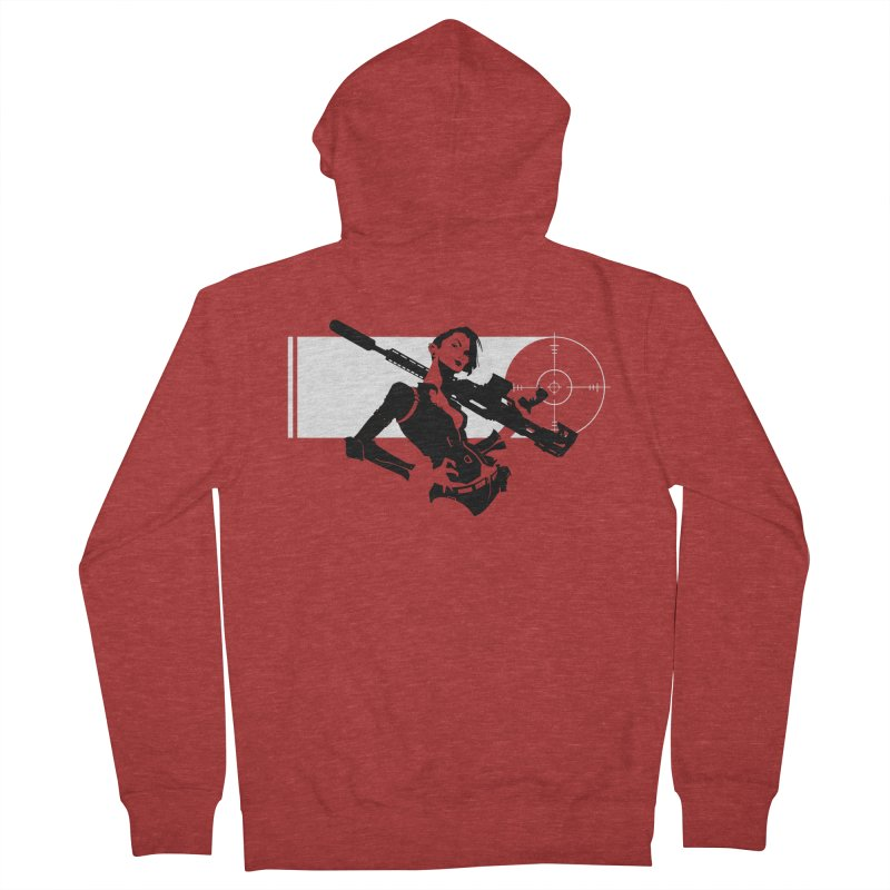 Assassin Women's French Terry Zip-Up Hoody by aaronjriley's Artist Shop