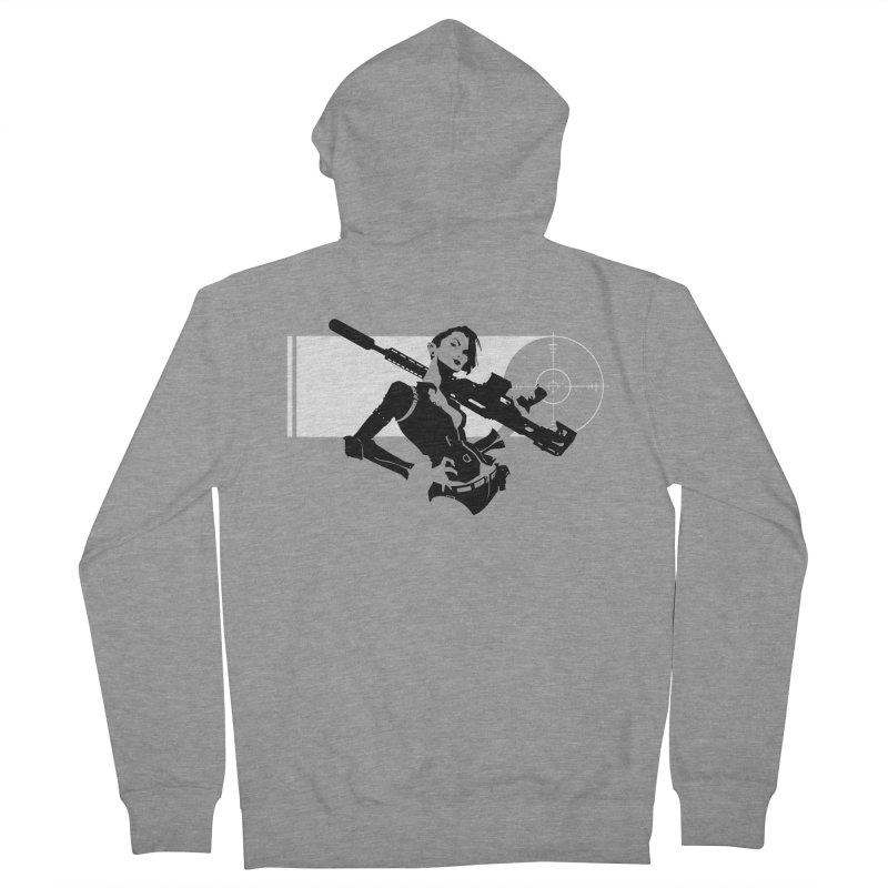 Assassin Men's French Terry Zip-Up Hoody by aaronjriley's Artist Shop
