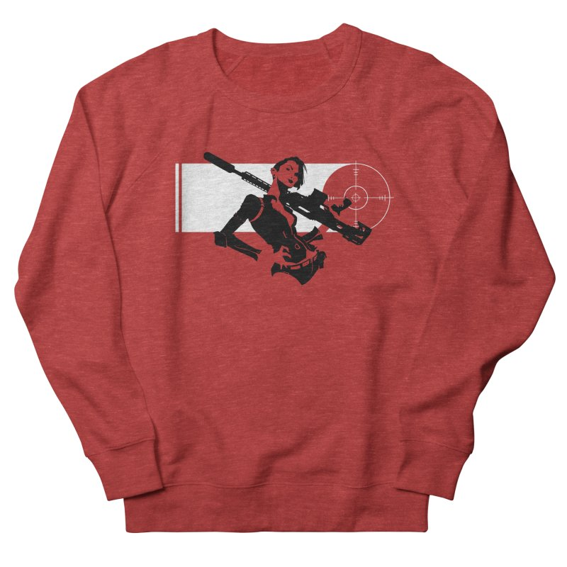 Assassin Men's French Terry Sweatshirt by aaronjriley's Artist Shop