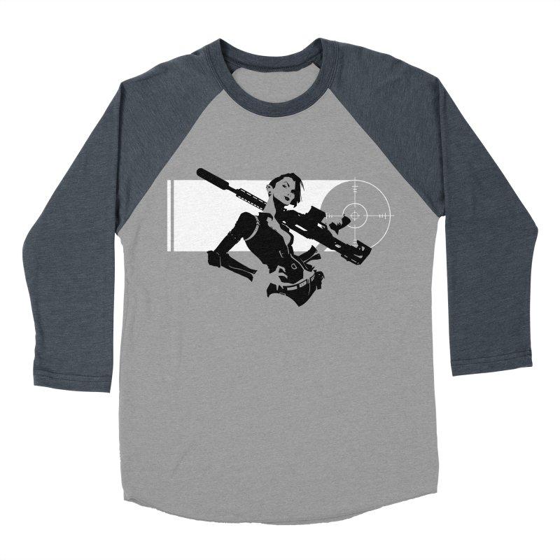 Assassin Men's Baseball Triblend Longsleeve T-Shirt by aaronjriley's Artist Shop