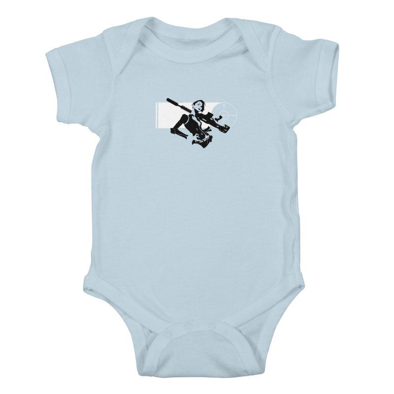 Assassin Kids Baby Bodysuit by aaronjriley's Artist Shop