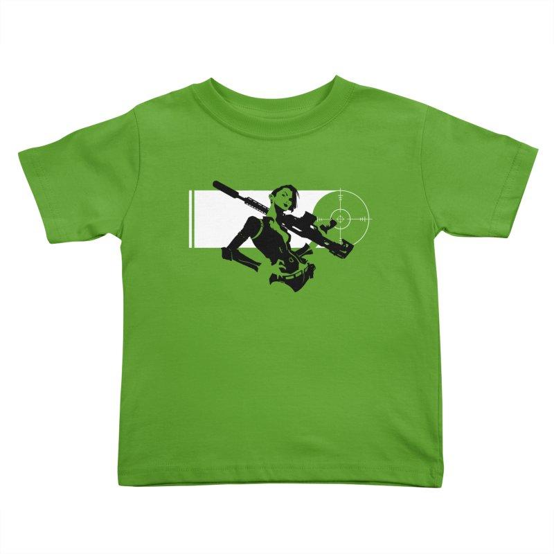 Assassin Kids Toddler T-Shirt by aaronjriley's Artist Shop