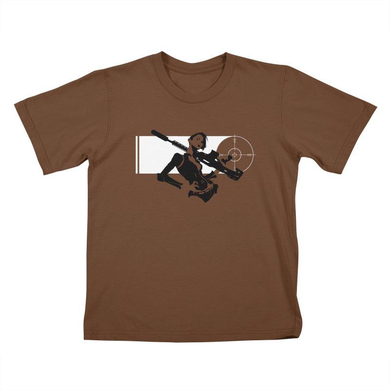 Assassin Kids T-Shirt by aaronjriley's Artist Shop