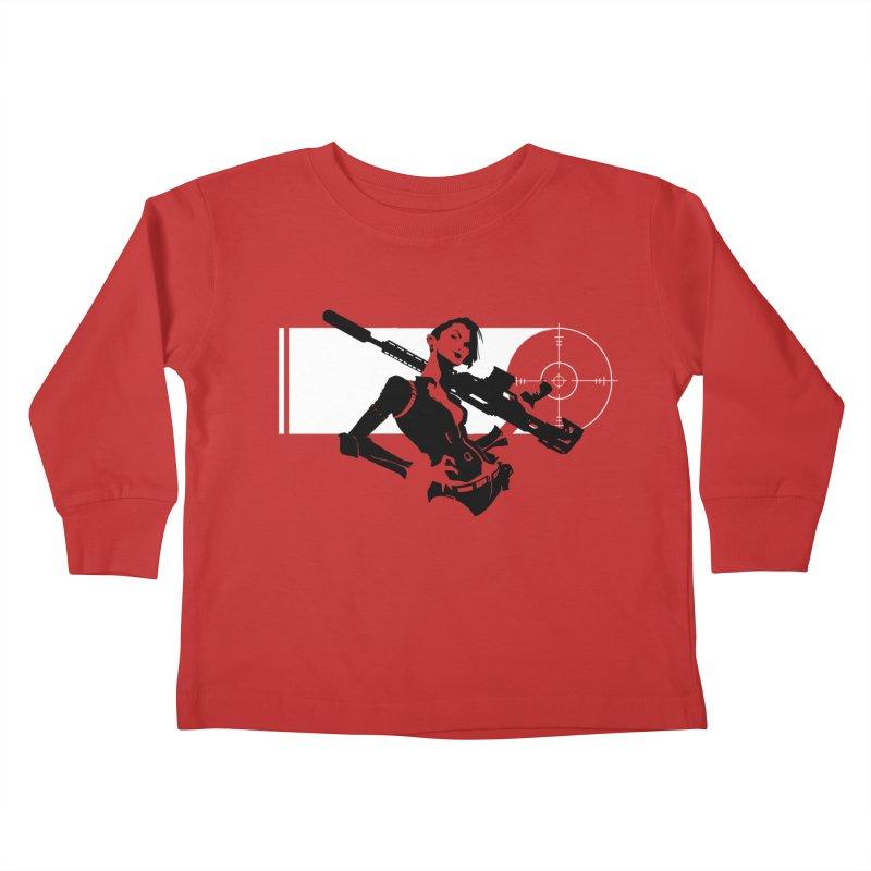 Assassin Kids Toddler Longsleeve T-Shirt by aaronjriley's Artist Shop