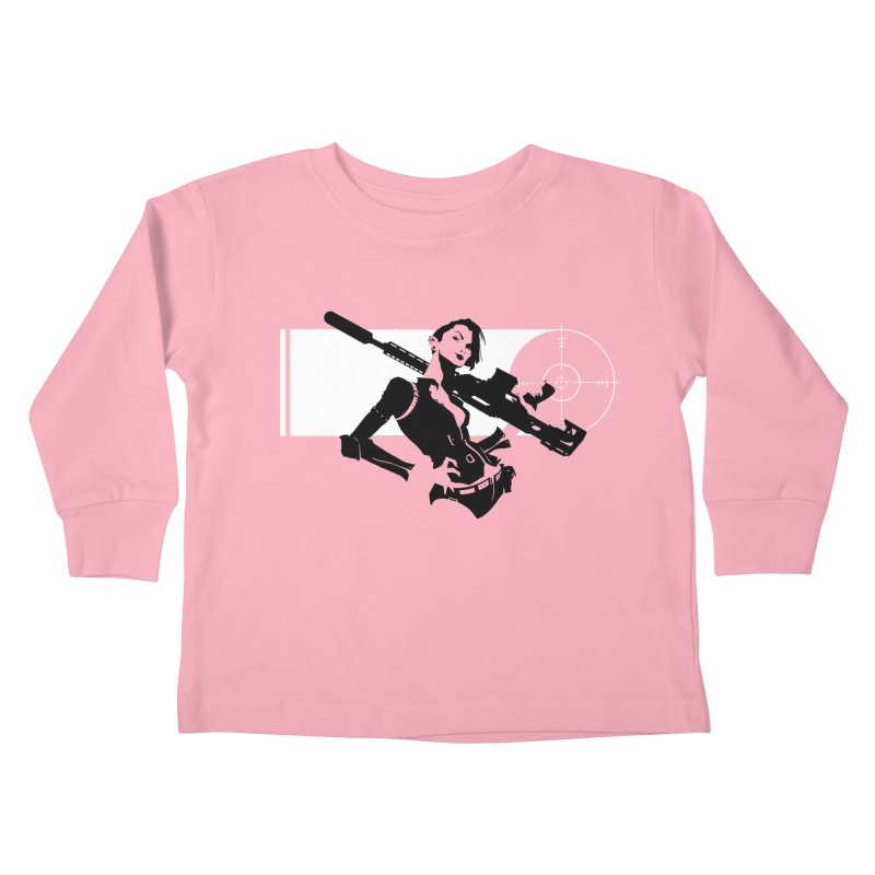 Assassin Kids Toddler Longsleeve T-Shirt by aaronjriley's Artist Shop