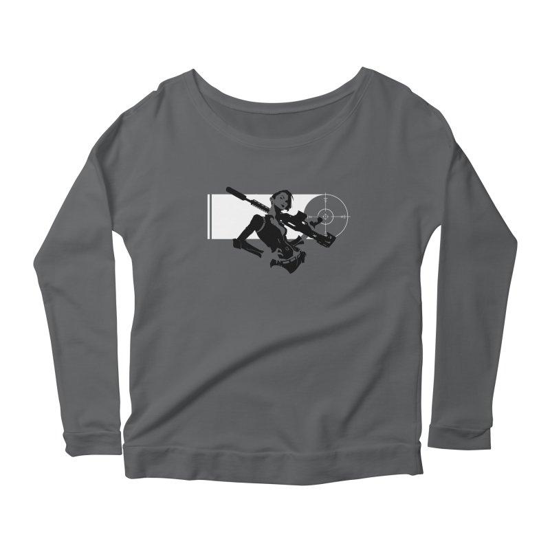 Assassin Women's Scoop Neck Longsleeve T-Shirt by aaronjriley's Artist Shop