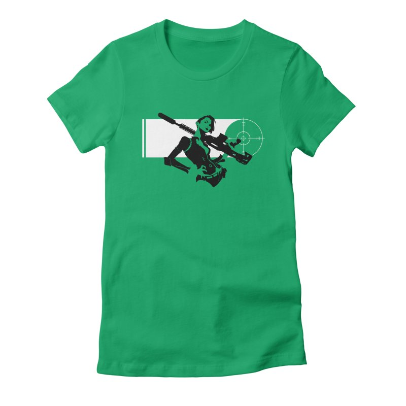 Assassin Women's Fitted T-Shirt by aaronjriley's Artist Shop