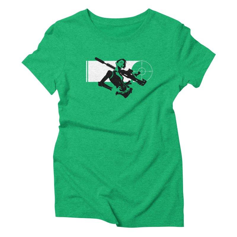Assassin Women's Triblend T-Shirt by aaronjriley's Artist Shop