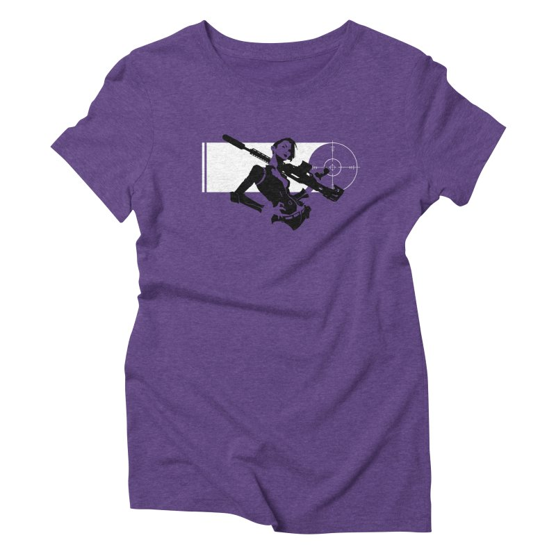 Assassin Women's Triblend T-Shirt by aaronjriley's Artist Shop