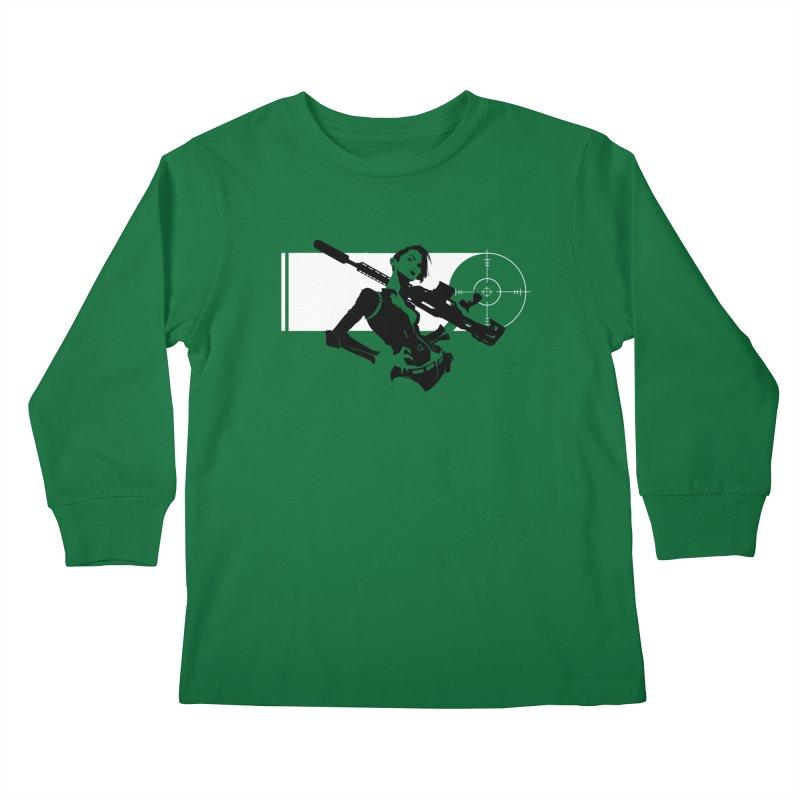 Assassin Kids Longsleeve T-Shirt by aaronjriley's Artist Shop
