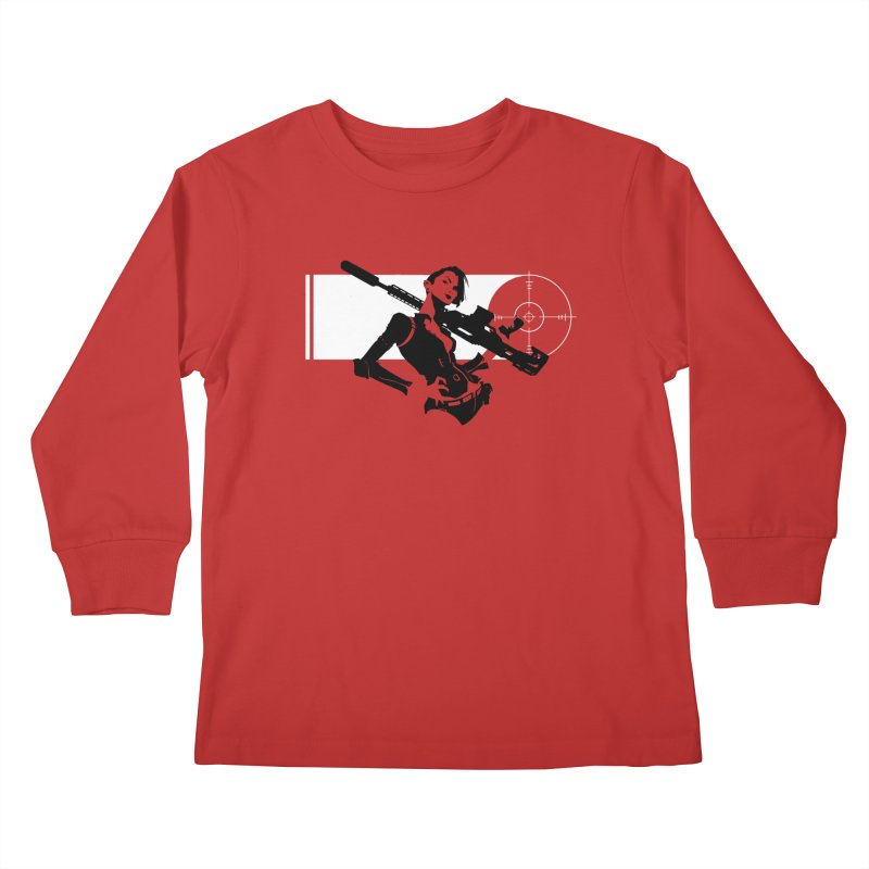 Assassin Kids Longsleeve T-Shirt by aaronjriley's Artist Shop