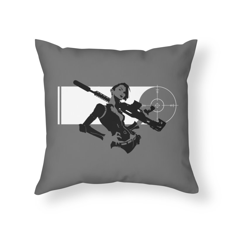 Assassin Home Throw Pillow by aaronjriley's Artist Shop