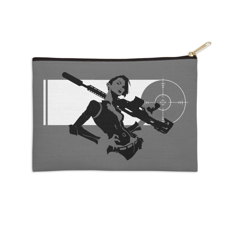 Assassin in Zip Pouch by aaronjriley's Artist Shop