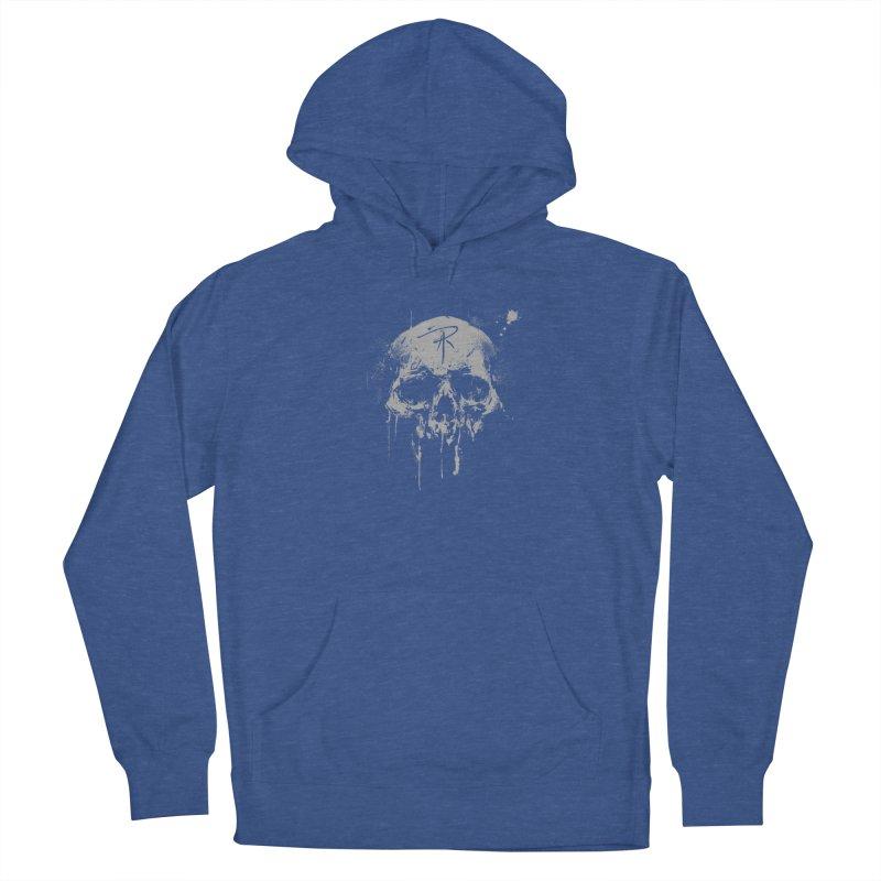 Aaron J. Riley Skull Design Women's Pullover Hoody by aaronjriley's Artist Shop