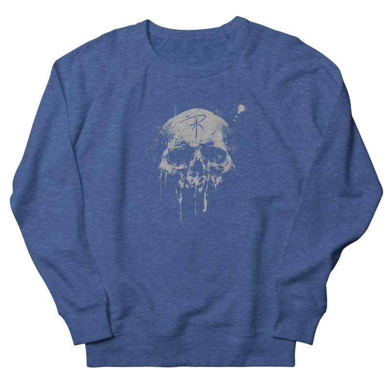 Aaron J. Riley Skull Design Women's French Terry Sweatshirt by aaronjriley's Artist Shop