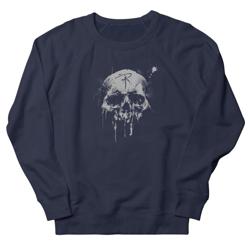 Aaron J. Riley Skull Design Men's French Terry Sweatshirt by aaronjriley's Artist Shop