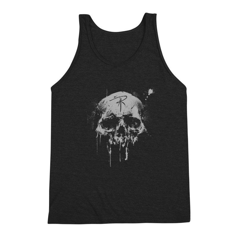 Aaron J. Riley Skull Design Men's Tank by aaronjriley's Artist Shop