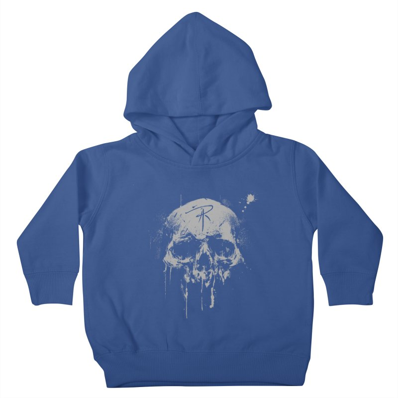 Aaron J. Riley Skull Design Kids Toddler Pullover Hoody by aaronjriley's Artist Shop