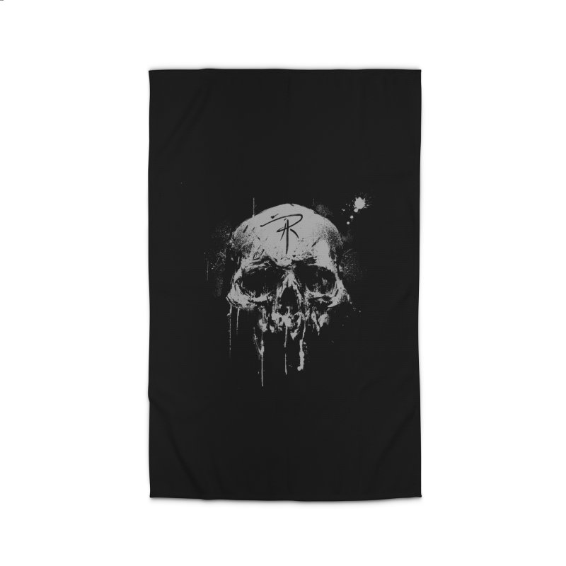 Aaron J. Riley Skull Design Home Rug by aaronjriley's Artist Shop