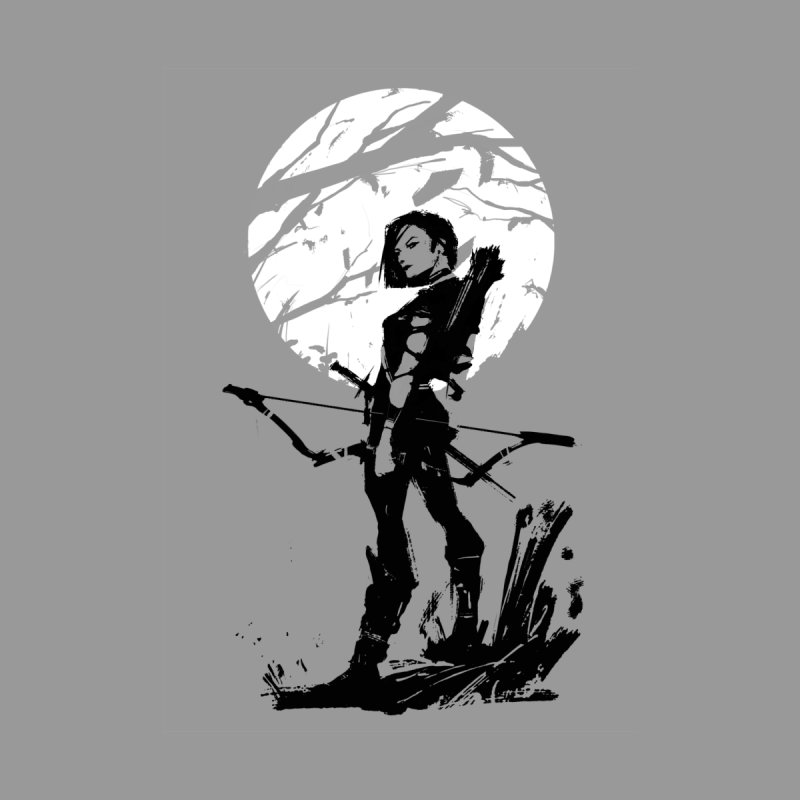 Moonlight Hunt Women's Scoop Neck by aaronjriley's Artist Shop