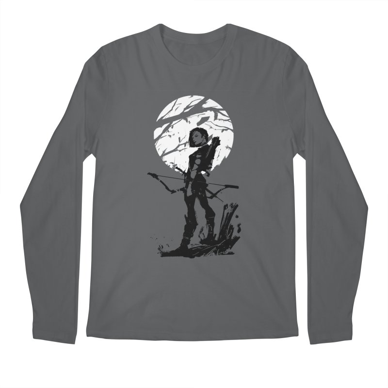 Moonlight Hunt Men's Longsleeve T-Shirt by aaronjriley's Artist Shop
