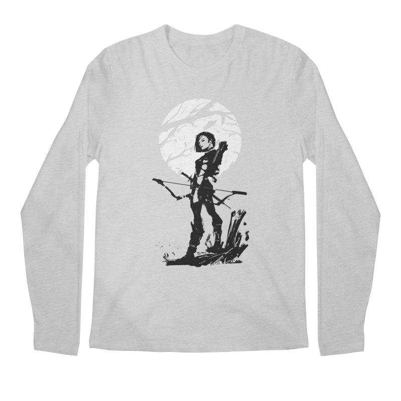 Moonlight Hunt Men's Regular Longsleeve T-Shirt by aaronjriley's Artist Shop