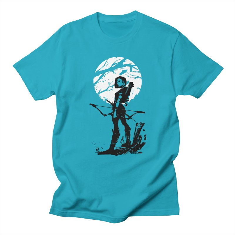 Moonlight Hunt Women's Regular Unisex T-Shirt by aaronjriley's Artist Shop