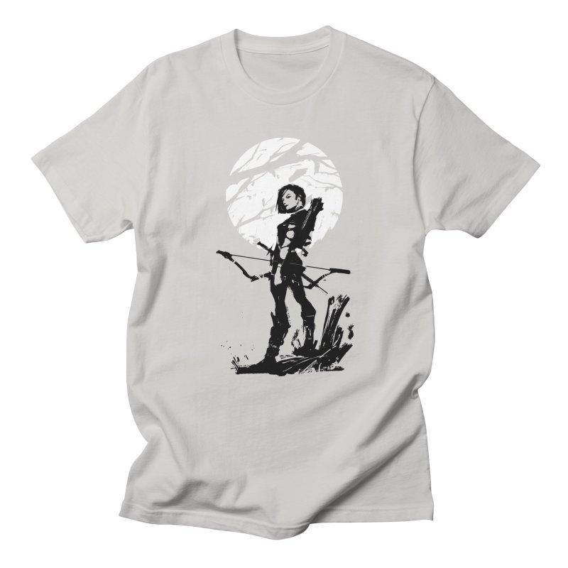 Moonlight Hunt Women's Regular Unisex T-Shirt by aaronjriley's Artist Shop