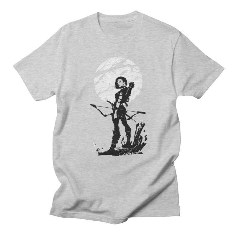 Moonlight Hunt Men's Regular T-Shirt by aaronjriley's Artist Shop