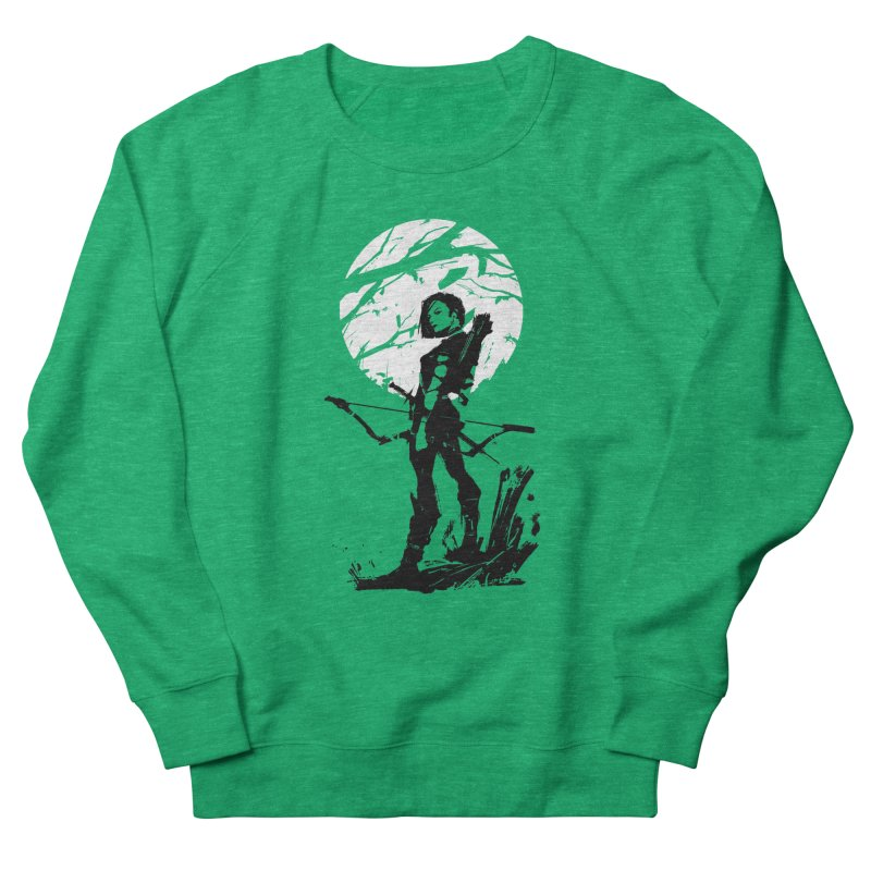 Moonlight Hunt Women's French Terry Sweatshirt by aaronjriley's Artist Shop