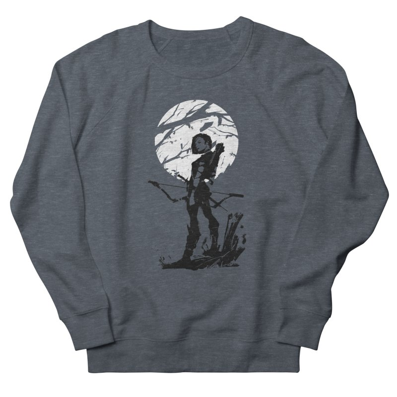 Moonlight Hunt Women's French Terry Sweatshirt by aaronjriley's Artist Shop