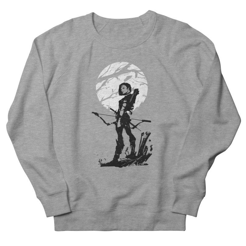Moonlight Hunt Men's French Terry Sweatshirt by aaronjriley's Artist Shop