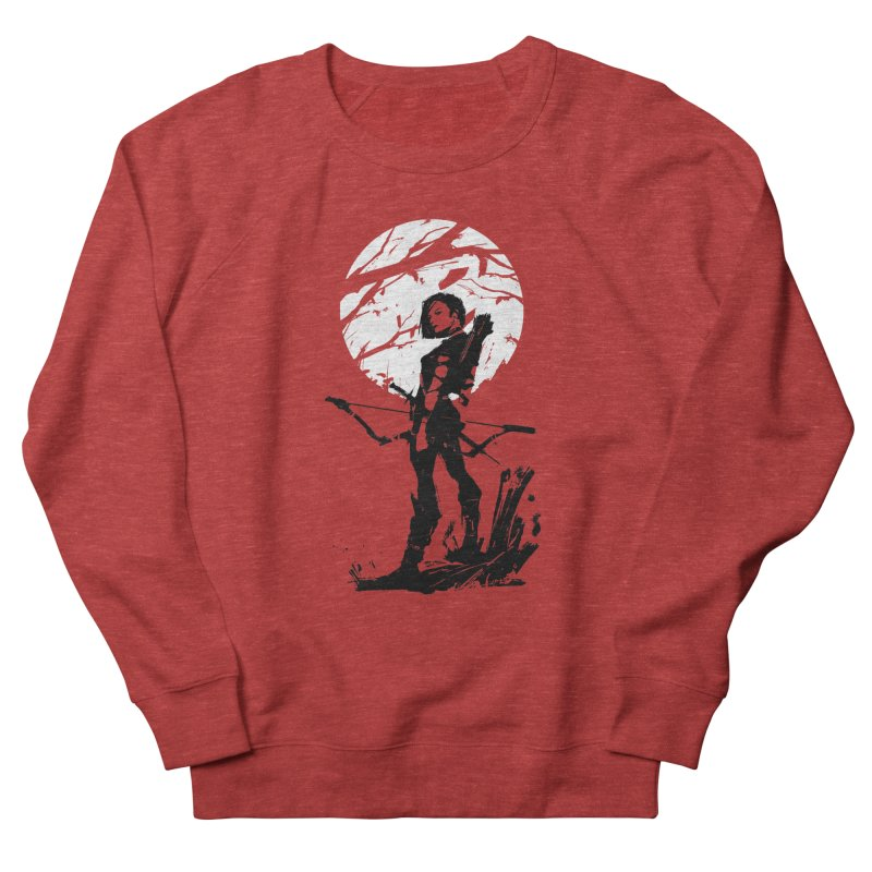 Moonlight Hunt Men's French Terry Sweatshirt by aaronjriley's Artist Shop